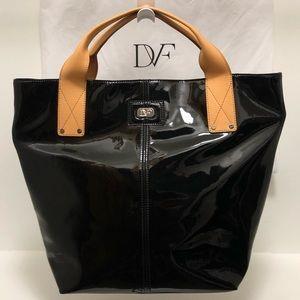 Diane Von Furstenberg Patent Leather Tote